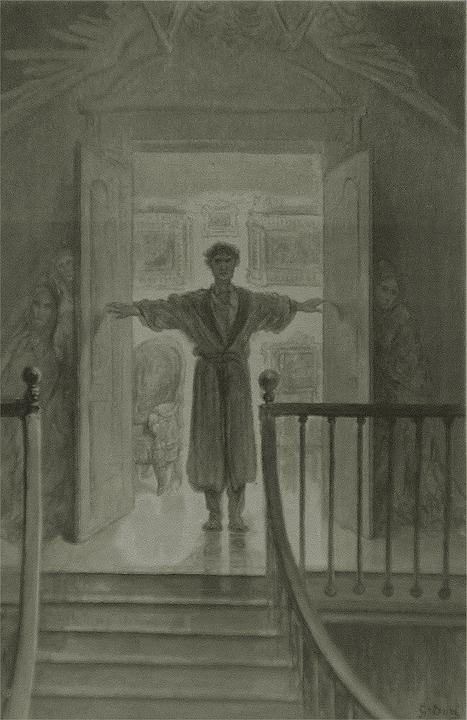Raven Edgar Allan Poe Drawing