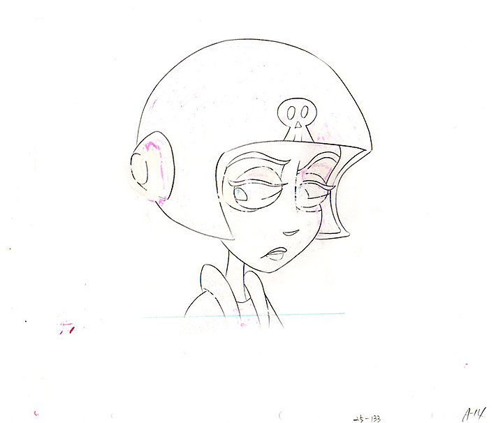 Hyaena Gallery Animation Artwork Beetlejuice